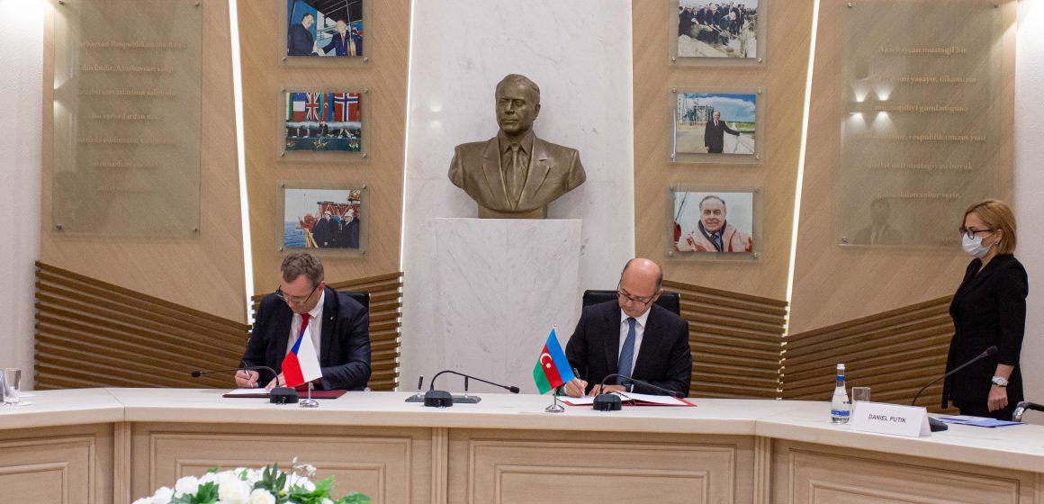 Azərbaycan və Çex Respublikası arasında energetika sahəsində əməkdaşlığa dair saziş imzalanıb