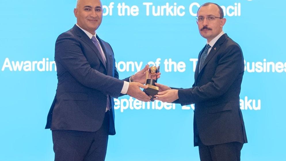 """Türk Şurası """"SOCAR Türkiyə"""" şirkətinə İnvestisiya Mükafatını təqdim edib"""