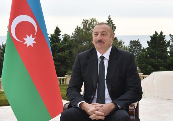"""Prezident İlham Əliyev: """"Yeni qaz yataqları kəşf etmişik"""""""